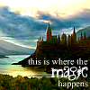 inkvoices: hp:hogwarts magic
