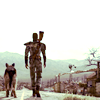 {fallout 3} lone wanderer and dogmeat