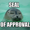 gabzillaz: seal approves