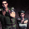 Chris Redfield: jill and me kicking ass