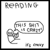 Reading is Crazy!!