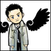 Claire: SPN: Cartoon!Castiel