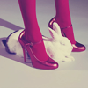 Bunny and shoes