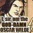 Oscar Wilde, Me or the Wallpaper, Wallpaper