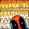 Pensive: marvel - deadpool aah! aah! ftlog