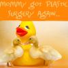 rodabug: rubber ducky plastic surgery