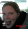 the Chick: tongue