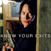 sarah know your exits