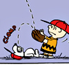 Peanuts - Snoopy Catching Charlie