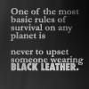 (Farscape) Black Leather