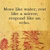 snake eyes and deja vu: Gen Move Like Water