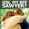 halfdutch: BFF Sawyer by hopelessfangirl