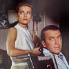 an owl on the sill in the evening: movie: Rear Window