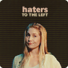 Angie: lost: haters to the left