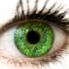 iris, green eyes