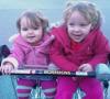 Cara & Amy in trolley
