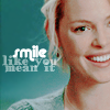 Morgan: smile like you mean it