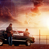 spn- sunset car