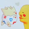 Pokemon - Togepi and Pikachu
