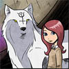 winter_elf: Girl & Wolf!