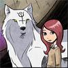 winter_elf: Girl & Wolf!
