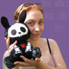 Shannon Willow: me and Jack the undead bunny
