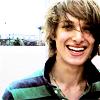smile in green stripes