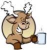 Moose With Mug