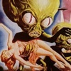 Intrepid Pirate and Questionable Cartoonist: attack of the saucer men {stress}