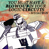 megatron lack of logic