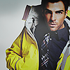Zachery Quinto yellow jacket