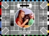 test card, tv