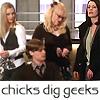 Fluttering Things: chicks dig geeks
