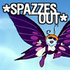 Fluttering Things: spazzes out