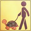 walking the turtle