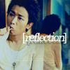 Ohno; reflection, Ohno; toothbrush