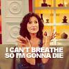 Irene: [celebrity:Lisa E ] I can't breathe