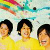 little miss prim and proper: ohno/nino/aiba: rainbows so bright