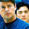 star trek - bones and sulu