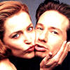 dynamite with a laser beam: Mulder and Scully