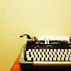 [stock] typewriter
