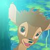 bambi: big grin, bambi: funny hair