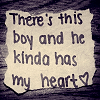 there's this boy <3