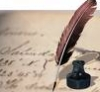 paper, writing, featherpen, ink