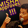 srs bsns: misha approves