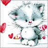 valkoinen_kissa: pikkukissa