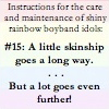 rule 15: skinship