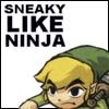 LoZ - Sneaky like ninja