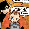 SGA - chibi john&rodney - working vroom