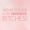 the female ghost of tom joad: misha collins is awesome